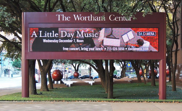 A Little Day Music at The Wortham Center - Dec 7, 2016