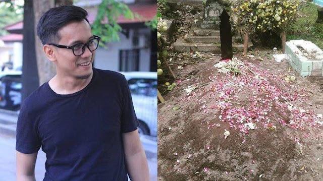 Batu Nisan Bani Seventeen Dikabarkan Hilang, Ini Kalrifikasi Pihak Keluarga