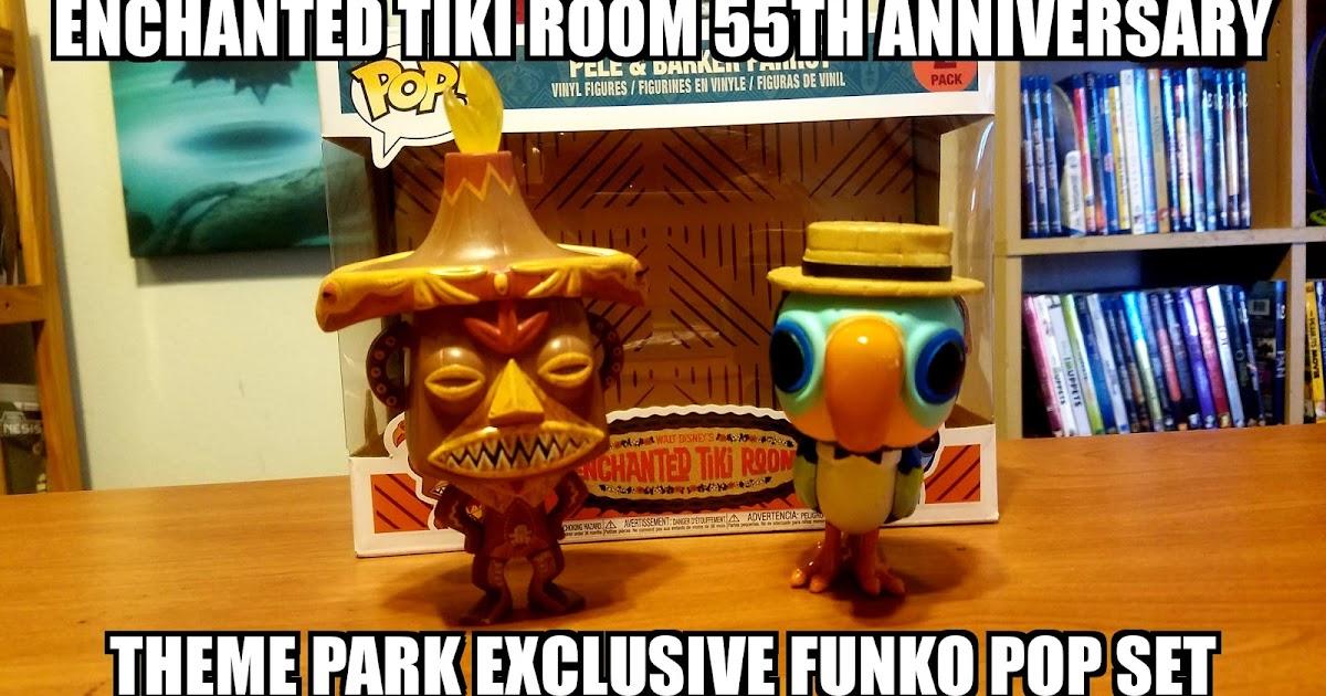 Sasaki Time Enchanted Tiki Room Funko Pop 55th