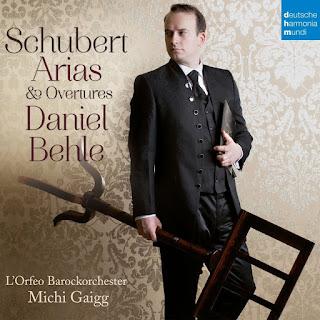 Daniel Behle - Schubert arias & overtures - Deutsche Harmonia Mundi