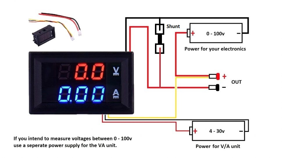 volt amp meter circuit Wiring Diagram for Navigation Lights