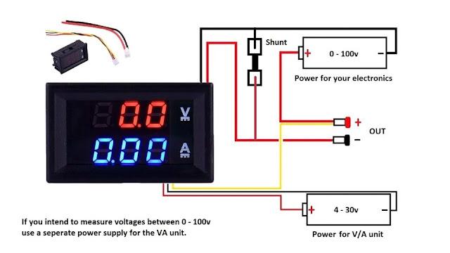 Auto Voltmeter Wiring Diagram Wiring Diagram