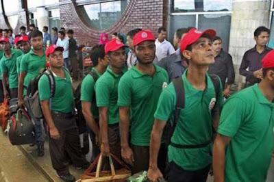 Pekerja Bangladesh Akan Bekerja Di Malaysia