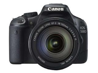 Harga Canon EOS 550D Kit di Indonesia