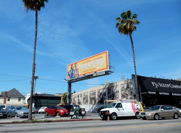 Nice Guys film billboard