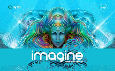 Imagine Music Festival Stage Special Effects Equipment installed by ATL Special FX