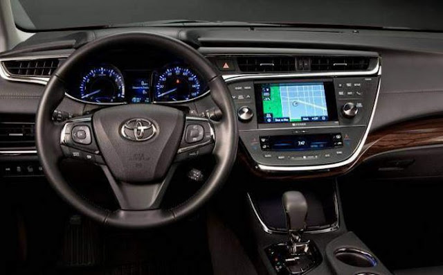 2018 Toyota Avalon Priview, Interior