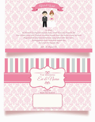 contoh desain undangan keren terbaru | download contoh undangan pernikahan dan khitanan gratis