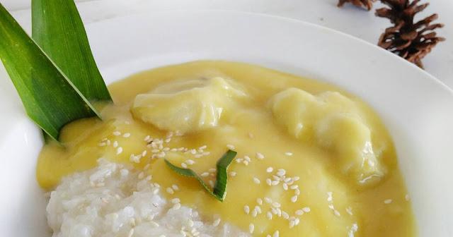 Resep Ketan Durian Lumer yang Lembut