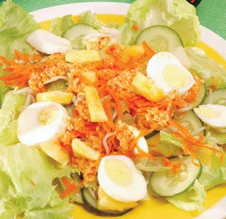 Cara memasak salad asam manis super lezat