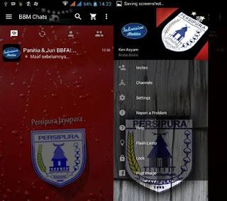 BBM Mod Persipura Jayapura