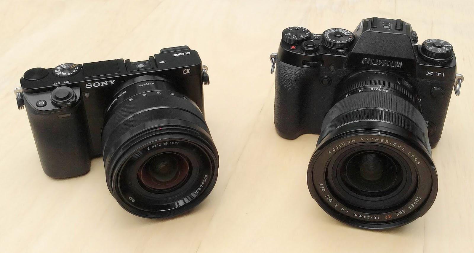 soundimageplus sony 10 18mm f4 e mount lens compared to fujifilm fujinon xf 10 24mm f 4 r ois lens. Black Bedroom Furniture Sets. Home Design Ideas