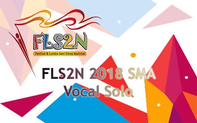 FLS2N SMA 2018 - Vocal Solo
