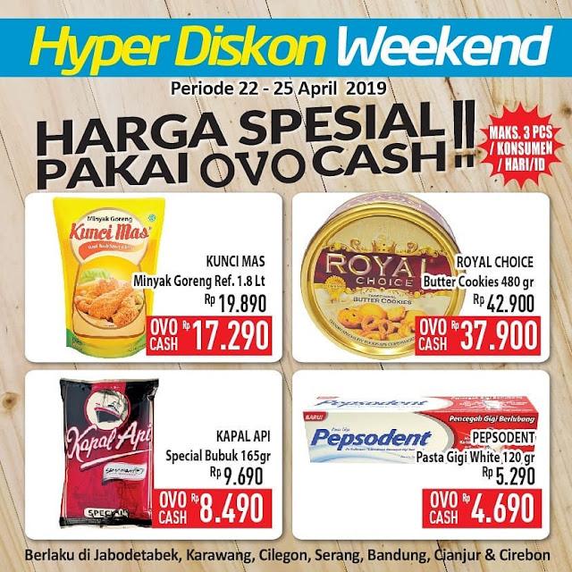 #Hypermart - #Promo #Katalog Hyper Diskon Weekday Periode 22 -25 April 2019
