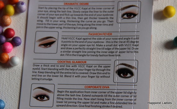 How to use VLCC Black Kajal