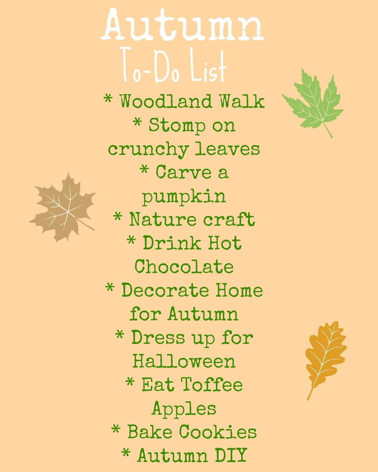 Why do I like autumn
