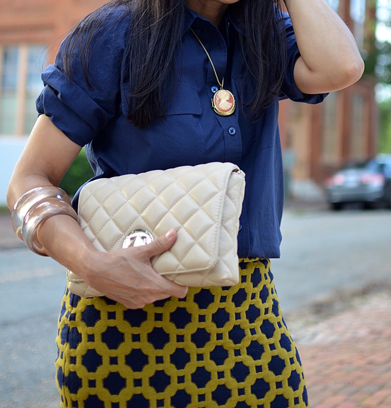 Cameo jewelry street style