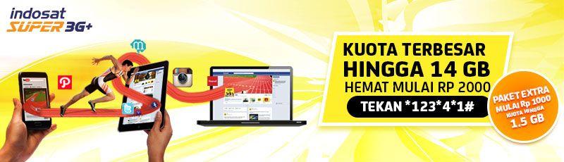 Indosat Promo Paket Internet 6 GB Hanya 25 Ribu Menjelang Ramadhan 2013