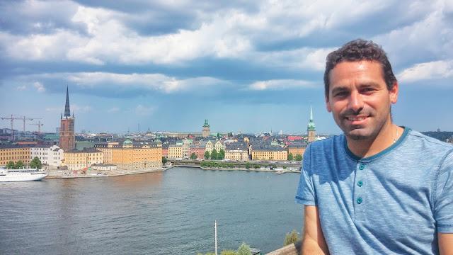 Panorámica de Estocolmo desde Monteliusvägen