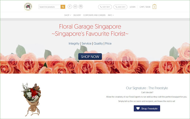 bowdywanders.com Singapore Travel Blog Philippines Photo :: Singapore ::  Probably the Best Flower Service Delivery in Singapore for All Occasions