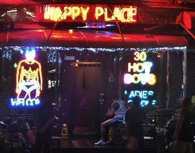 Pattaya gay bar