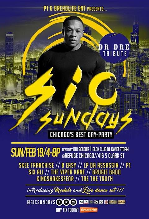 CHICAGO EVENT: SIC Sundays Feb 19th