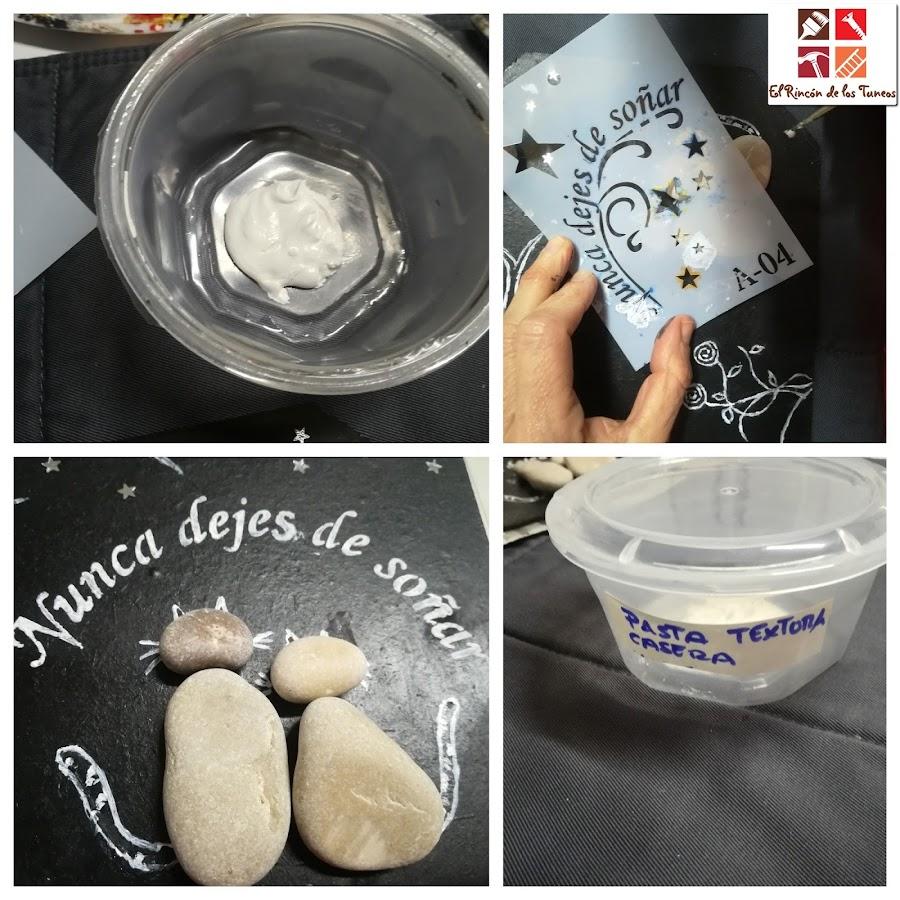 como hacer pasta de textura