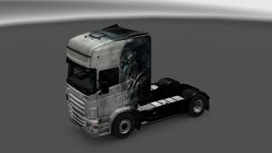 Scania RJL Longline Soldier of the future Skin