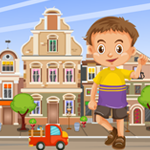 G4K City Boy Rescue Game