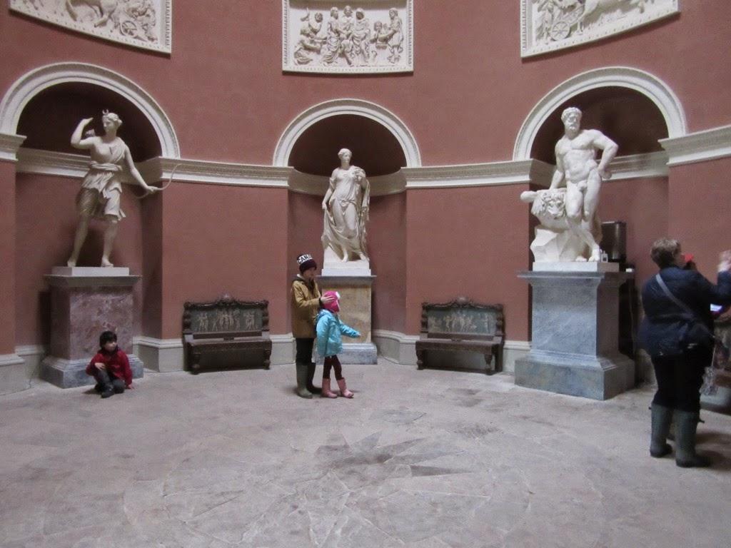 Stourhead Pantheon Interior