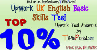 Upwork UK ENGLISH OXFORD STYLE EDITING SKILLS TEST (FOR WRITING PROFESSIONALS) 2016