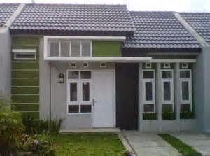 eksterior rumah minimalis type 45