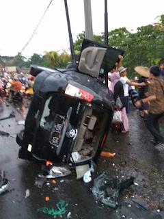 Kecelakaan Beruntun Puncak Jabar