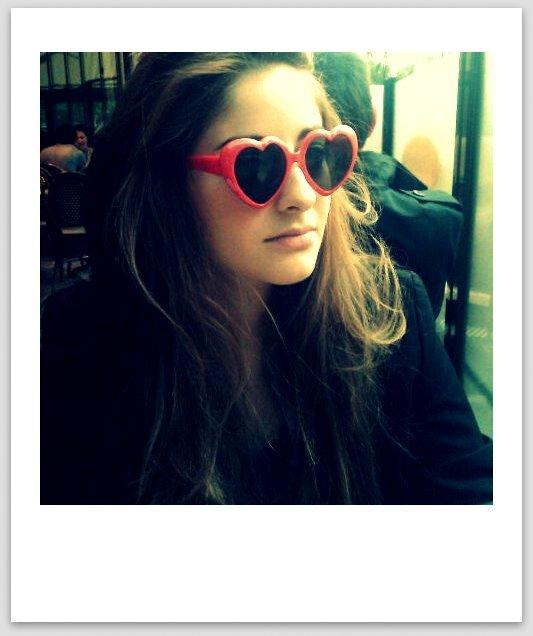 lolita lunettes coeur