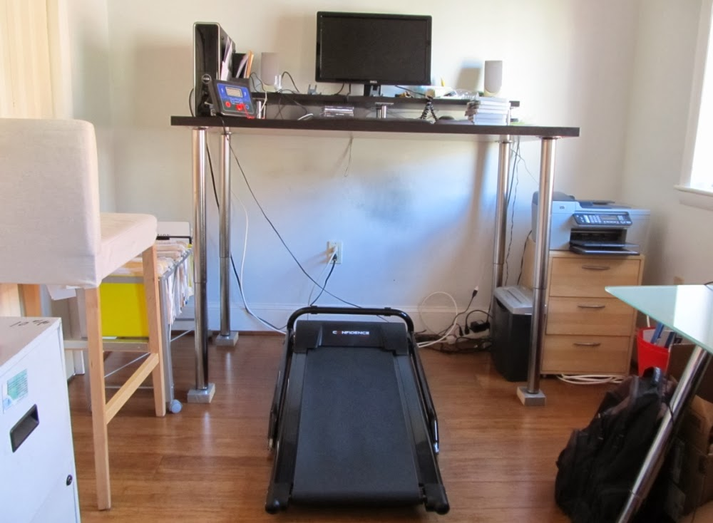 Building a DIY walking desk with a $200 treadmill