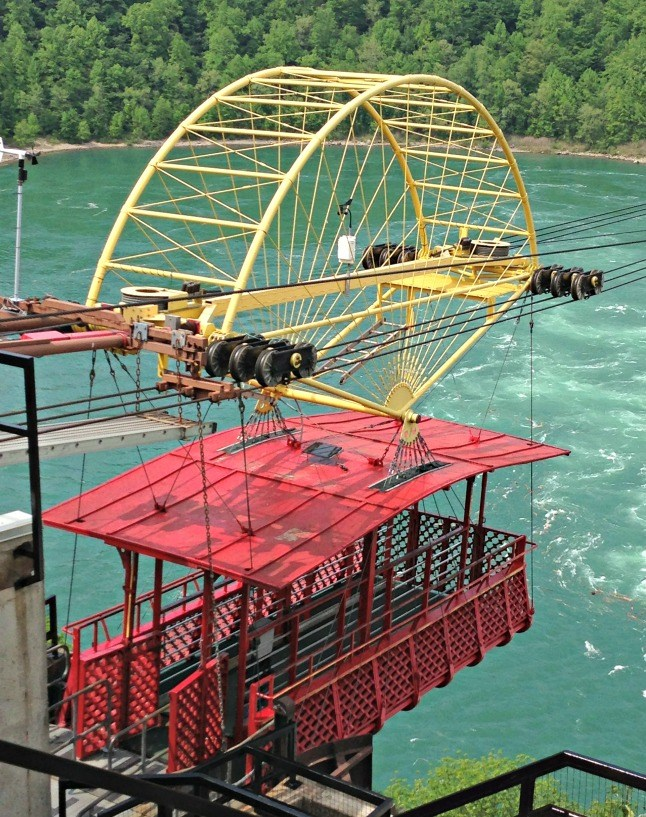 Fancy a ride across the Great Gorge in an antique cable car at Niagara Falls?