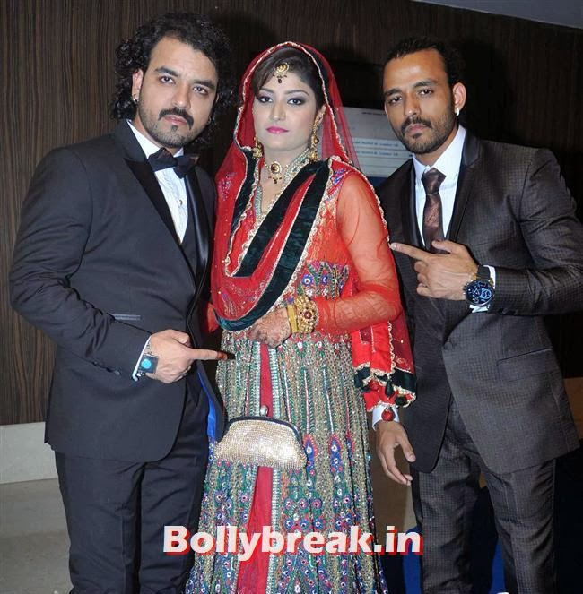 , Sophie, Manjari at Toshi Sabri's Wedding Pics
