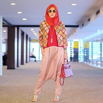 Baju Muslim Casual Dian Pelangi14