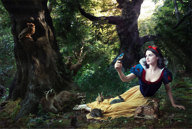 Rachel Weisz Snow White Disney Dream Portraits Annie Leibovitz