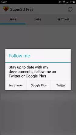 SuperSU Terbuka Di Android
