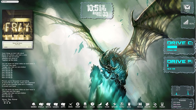 Ubah Desktop Menjadi Lebih Kekinian dengan Rainmeter