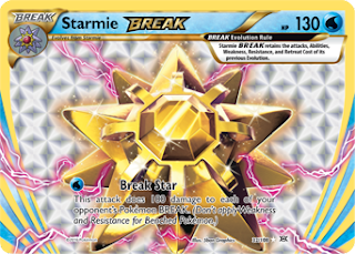 Starmie BREAK Evolutions Pokemon Card