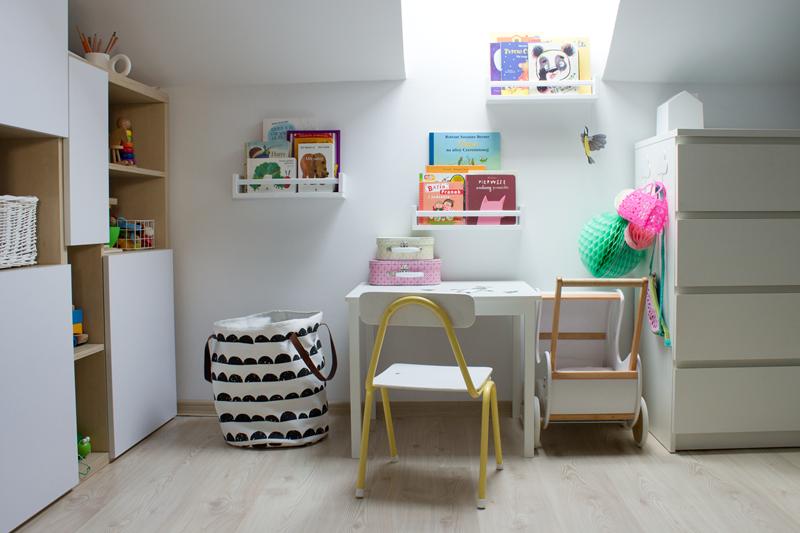 pokoj dziecka krzeselko diy szkolne krzeslo