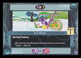 My Little Pony It's Alive! Premiere CCG Card