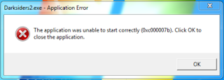 The application was unable to start correctly (0xc000007b)