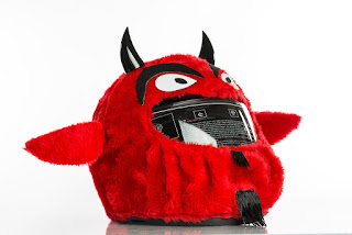 Devil Motorcycle Helmet Cover