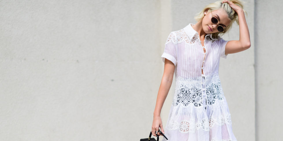 15 Little White Dresses to Live in This Summer