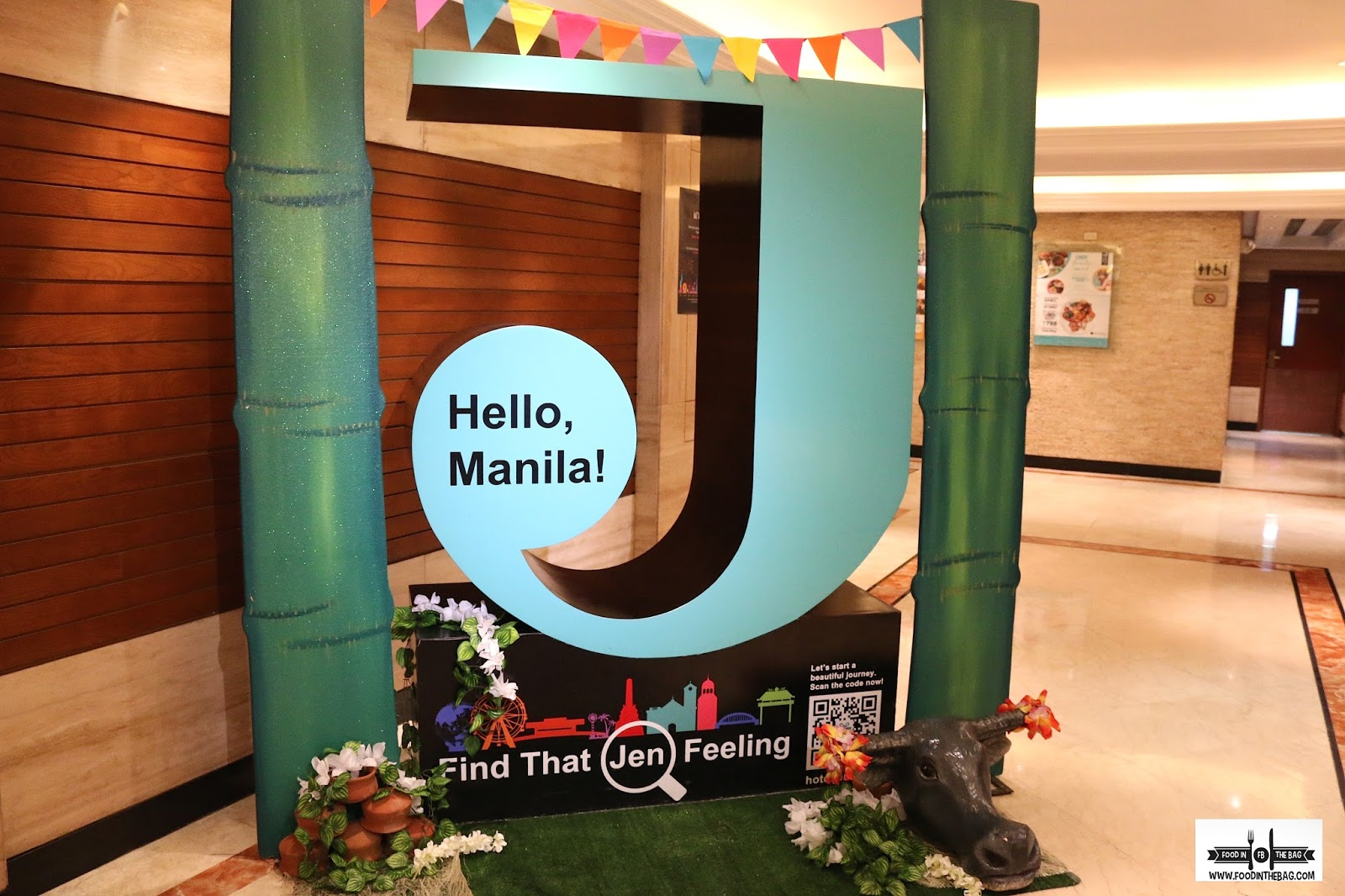 how to go to hotel jen manila