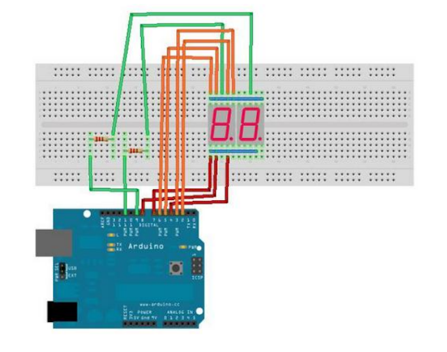 Scanning Seven Segment Arduino