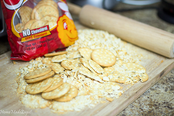 Crix Crackers used to make stove top stuffing